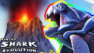 BIG DADDY IN THE VOLCANO 🌋 (HUNGRY SHARK EVOLUTION)