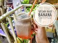 Vegan ragi smoothie| Breakfast ideas