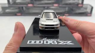 Hobby Japan 1:64 SUBARU IMPREZA WRX (GC8) Light Silver Metallic  (HJ641013S)