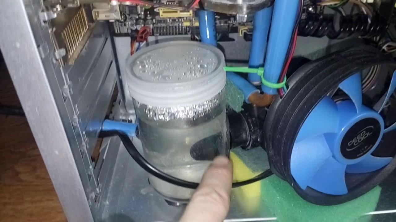 Систем водяного охлаждения своими руками 105