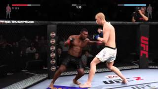 EA Sports UFC 2 MIKE TYSON vs Stefan Struve Ranked gameplay online