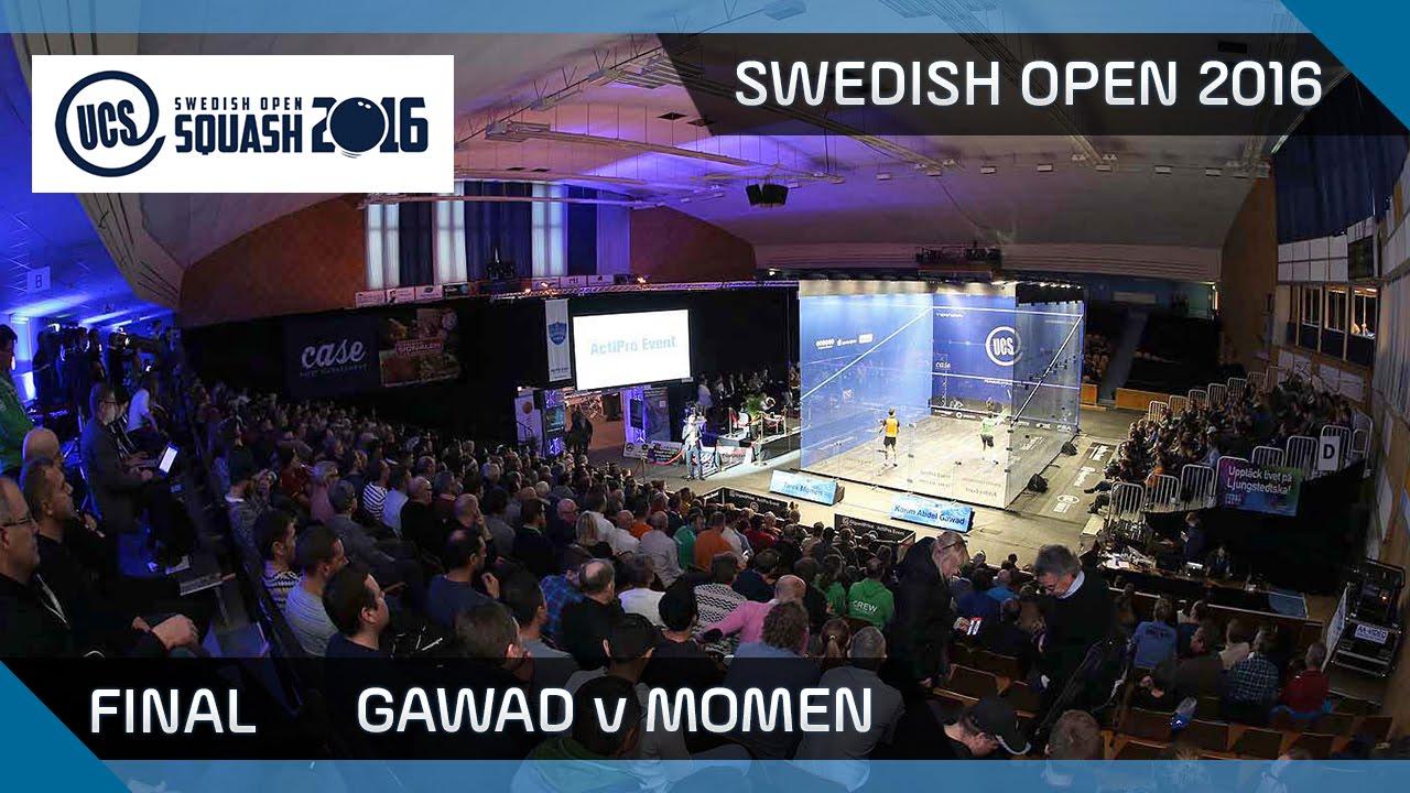 Squash: Gawad v Momen - UCS Swedish Open - Final Highlights