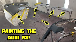 Rebuilding a Wrecked 2018 Audi R8 Part 10