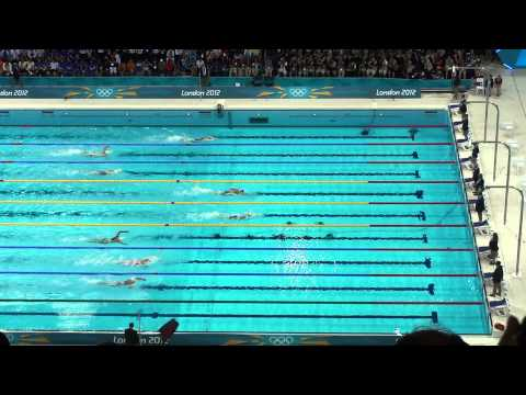 London 2012 Olympics Swimming - Rebecca Adlington wins bronze