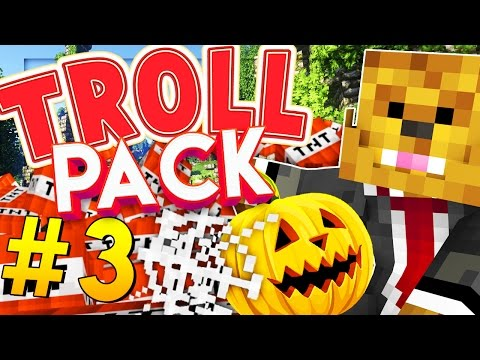 Minecraft TROLL PACK - HALLOWEEN PRANK! #3