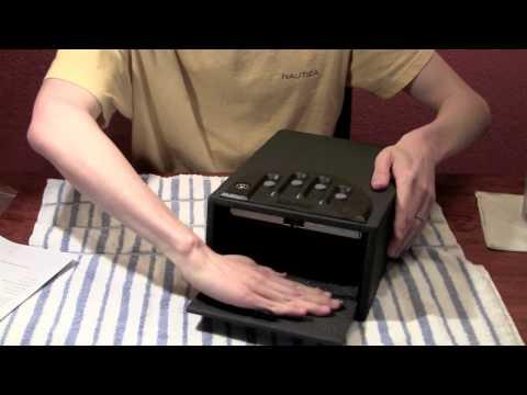 Gunvault GV1000C-DLX Deluxe Gun Safe Unboxing