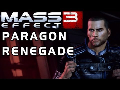 Mass Effect 3: Paragon/Renegade Reputation System EXPLAINED!