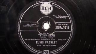 Watch Elvis Presley Teddy Bear video