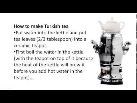 Turkish Tea - Download Istanbul Travel & Expat Guide