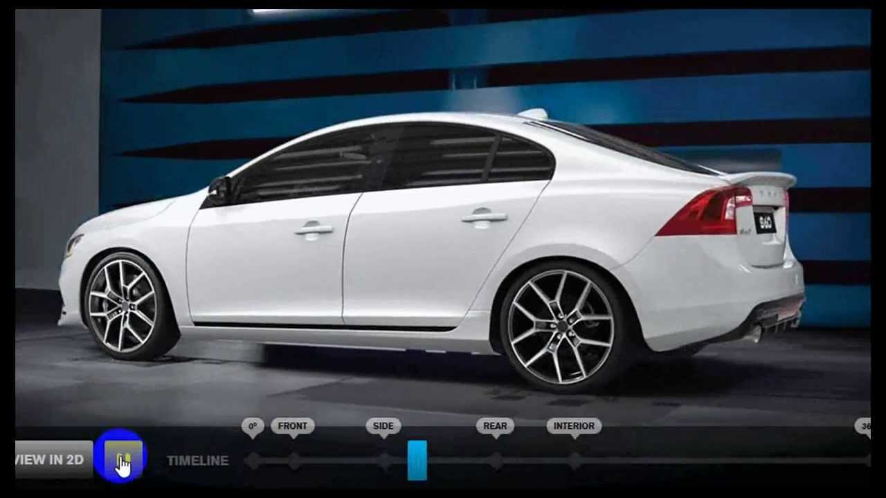 AWESOME 3D Models from VOLVO - Polestar S60 2014 Video - 4.7s to 60MPH - YouTube