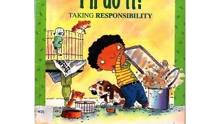 I'LL DO IT, TAKING RESPONSIBILITY (BOOK)KIDS READING WITH ENGLISH SUBTITLES