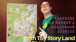 Planning for Hollywood Studios with Toy Story Land
