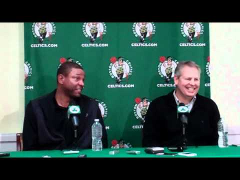 Dec 1 2011 Danny Ainge Doc Rivers .flv