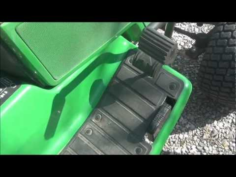COMPARE JOHN DEERE (REVISED) REVERSE PEDALS FOR 425-445-455 ALSO LX-GT SERIES