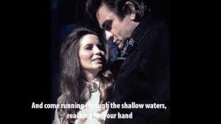 Far Side Banks Of Jordan - Johnny Cash & June Carter Cash (with lyrics)
