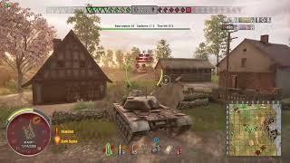 World of Tanks Xbox one T110E5 4 Kills