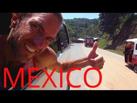 CRAZY MEXICAN BUS RIDE!! And Amazing Views of Mexico