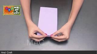 DIY How To Make Paper  Handbag , Simple Art For Kids ,Magic Art and Craft