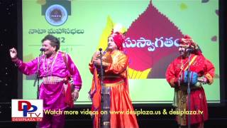 Burra Katha at NATA convention by performers from India - 2012