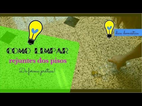 Como limpar rejuntes de piso rapidamente youtube - Como vender un piso rapidamente ...