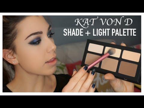 KAT VON D Shade + Light Contour Palette   REVIEW AND DEMO