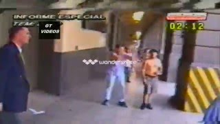 Primeros Incidentes - Oficinistas Vs. Policía Federal - Crisis de 2001