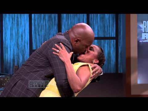 Steve Harvey's Dip Kiss