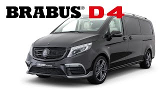 BRABUS Business Plus in the Mercedes V-Class is a luxurious way to handle your business!