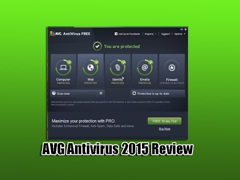 Free AVG Antivirus 2015 Review