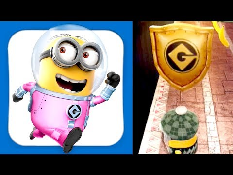 Golden Shield: Million Points High Score!!! Despicable Me: Minion Rush Gameplay (iphone, Android) video