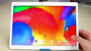 Discount Price  ALLDOCUBE X Tablet PC - WHITE Hands On Review 10.5 inch