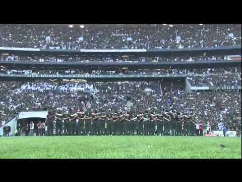 Springboks National Anthem 2012 Johannesburg - One Word - Magic Sang By HotStix