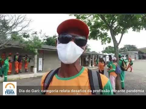 Dia do Gari: categoria relata desafios da profissão durante a pandemia