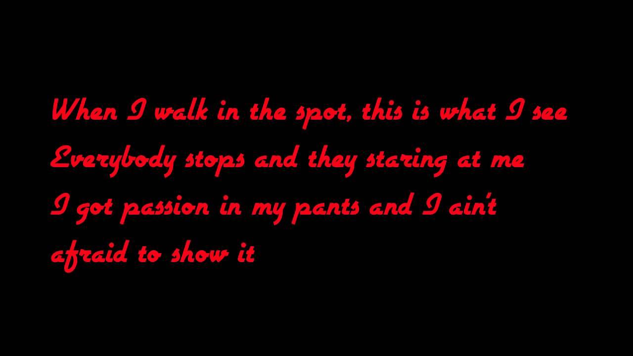 you sexy lyrics: