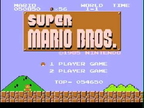 La opera de Super Mario Bros