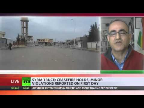ISIS/ISIL attacks Syrian Kurdish settlements amid proclaimed ceasefire