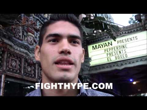 GILBERTO RAMIREZ IS A REALLY BIG FAN OF GENNADY GOLOVKIN BUT WOULD LOVE TO FIGHT HIM IN THE FUTURE