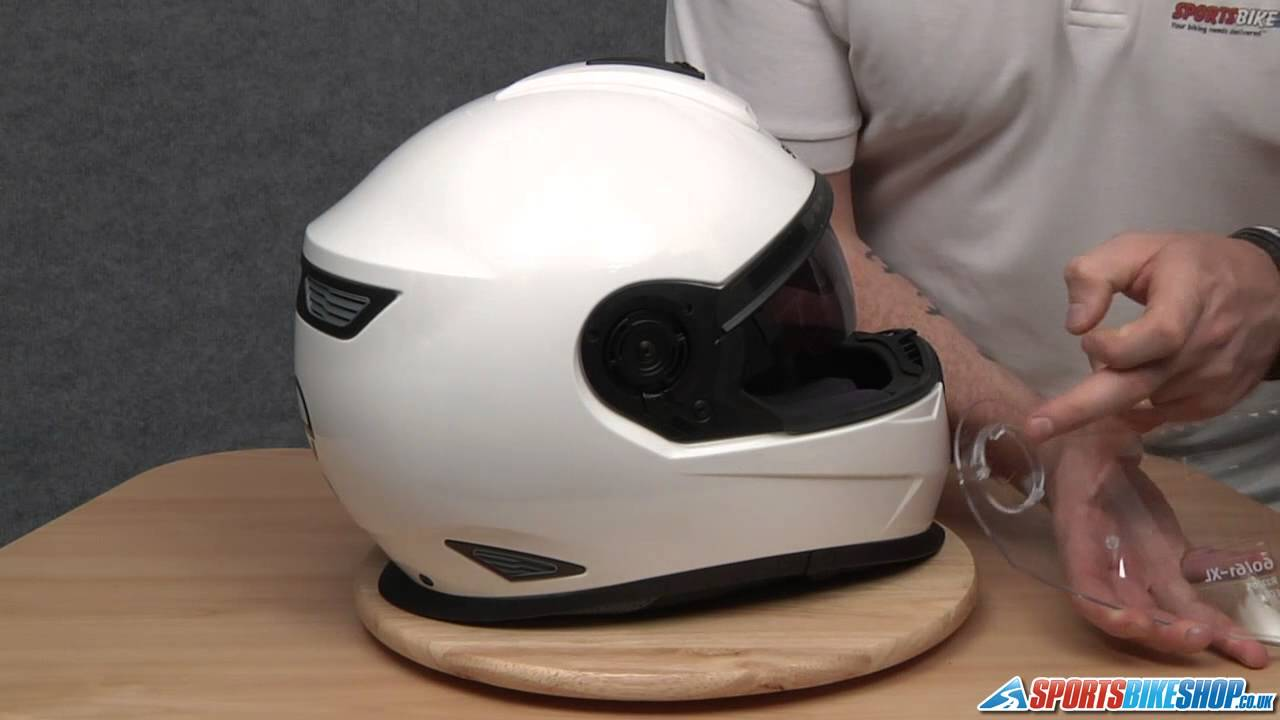 how to change a schuberth c3 c3 pro s2 visor youtube. Black Bedroom Furniture Sets. Home Design Ideas