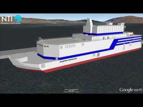 Akademik Lomonosov Floating Nuclear Power Plant - Russia