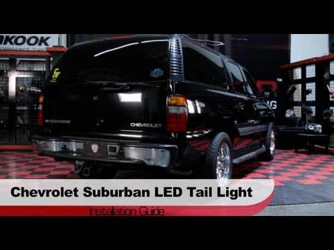 Spyder Auto Installation: 2000-06 Chevrolet Suburban/Tahoe LED Tail Lights