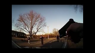 Columbia, MO Police Officer Pulls Gun on Teen For Filming Him (Schlude Cam)