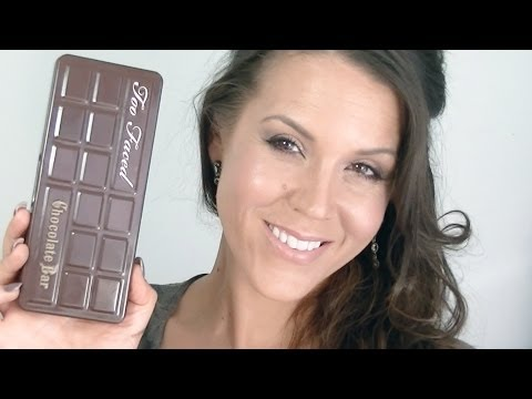 GRWM: Too Faced Chocolate Bar Palette