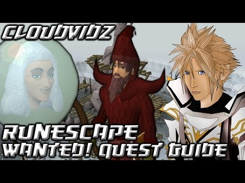 Runescape Wanted! Quest Guide HD