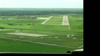 (HD) Westjet 737-6CT -pit - Landing 13 @ Regina Int'l (YQR/CYQR)