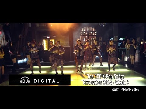 Top 100 K-Pop Songs for November 2014 Week 3