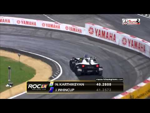 ROC 2012 Nations Cup - Jamie WHINCUP vs Narain KARTHIKEYAN