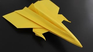 How to Make a Origami Paper Plane: instruction | GAGA
