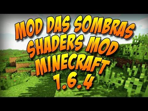 Como instalar o Mod das Sombras para 1.6.4   Shaders Mod 1.6.4