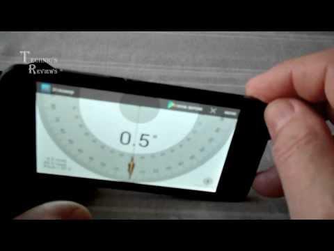 Обзор программы Angle Meter Touch