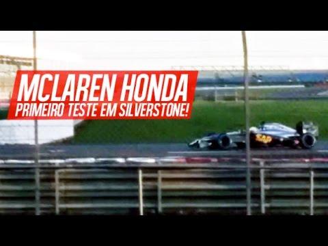 Mclaren Honda Turbo Mclaren Honda First Test in
